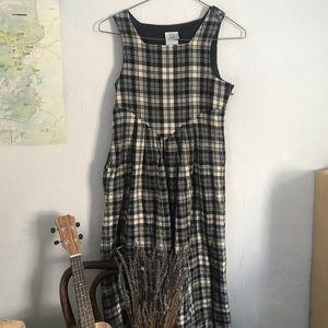 Vintage Laura Ashley wool tea dress 🤍